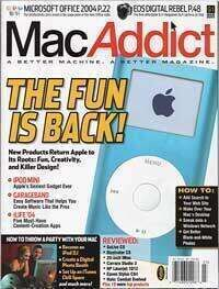 JBE featured in Mac Addict - AGAIN