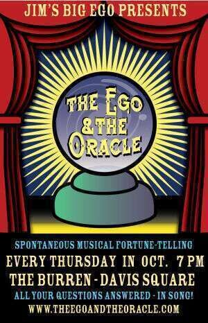 The Ego amp The Oracle - Every Thursday in October