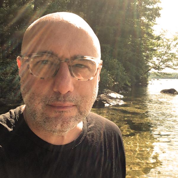 Jim Infantino by a lake