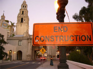 END CONSTRUCTION