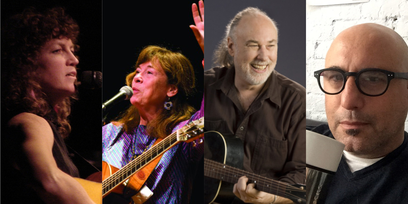 Claudia Schmidt Jim Infantino Geoff Bartley amp Cosy Sheridan live and in concert