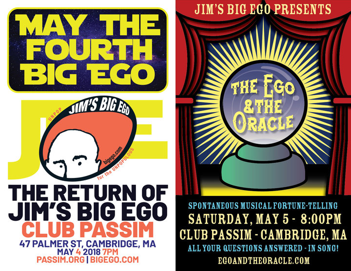 May the 4th Big Ego SOLD OUT nbspEgo amp Oracle