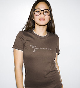 I don039t know how to party womens t
